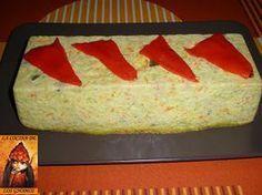 PASTEL DE CALABACIN Y ATUN AL MICROONDAS Veggie Recipes, Salad Recipes, Cooking Recipes, Cocina Light, Microwave Cake, Healthy Recepies, Crazy Cakes, Flan, Sin Gluten