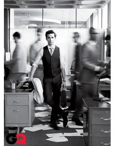 Shia LaBeouf Wall Street Photos: Ultimate Suit Guide: GQ    PHOTOGRAPHS BY NATHANIEL GOLDBERG