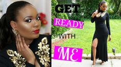 Get Ready With Me | Basic to Fierce | Black Tie Glam