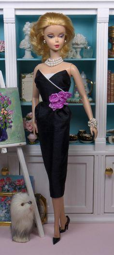 Cocktail Sheath for Silkstone Barbie OOAK Doll Fashion