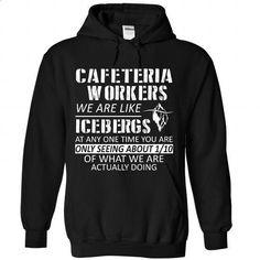Cafeteria Worker - design a shirt #long sweater #sweater jacket