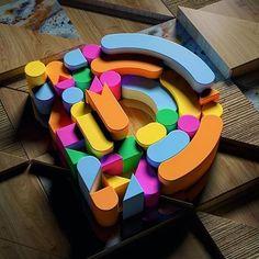 36 days of type: exercitando a criatividade com letras e números - Conheça o 36…