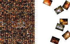 MOBILEJAM-NIGHTRAFFIC - 2007 - (full work and details from book project - digitalshot collage with phone shots - cm203 x 270) - 2007 - twitter.com/ragnoxxx #contemporaryart #conceptualart #artecontemporanea #visualart #arte #artcontemporain #photografy #artcollectors #art #contemporaryphotografy #artgallery #artexhibition #artcollector #kunst #cosegiaviste #installation