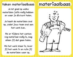 Coöperatief werken: kaartje voor de materiaalbaas van het team! School Info, School Plan, Cooperative Learning Strategies, School Organisation, 21st Century Skills, Teacher Inspiration, Classroom Rules, Social Emotional Learning, Teaching Tips