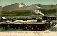Sawmill, Ushuaia, Tierra del Fuego, Argentina c1907. From the Bygone Days in Southern Patagonia website http://patfotos.org/
