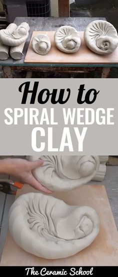Hsin-Chuen Lin demonstrates how and why to wedge clay in a spiral style and finish in a bullet shape.
