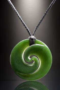 Jade Symbol Koru