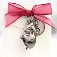 Set breloc ingeras, cutie si fundita rosie Accessories, Fashion, Moda, Fasion, Fashion Illustrations, Fashion Models, Jewelry