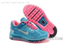 1ddcba742acd Cheap Nike Air Max 2013 New Releases Shoes For Kids Blue Pink Hot