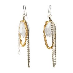 Icicle Earrings Sterling, $42, now featured on Fab.