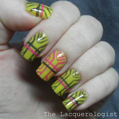 "The Lacquerologist: ""Art Deco"" Nail Art with Priti NYC Shades"