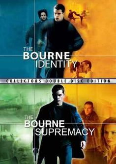 The Bourne Identity & Supremacy