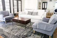 IKEA's New Sofa and Chairs and How to Keep Them Clean - Bless'er House