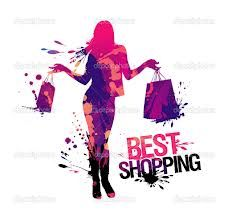 Best shopping, vector illustration with splashes. Big Fashion, Urban Fashion, Fashion Brand, Ladies Fashion, Silhouette Images, Woman Silhouette, High Low Evening Dresses, Fashion Background, People Icon