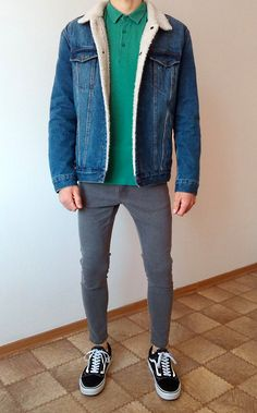 vans old skool skinny jeans boys guys outfit Trendy Outfits For Teens, Cool Outfits, Vans Old Skool, Dress Outfits, Fashion Outfits, Fashion Men, Vans Outfit, Herren Outfit, How To Wear Scarves