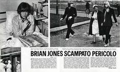 Brian Jones scampato pericolo - (escape danger)