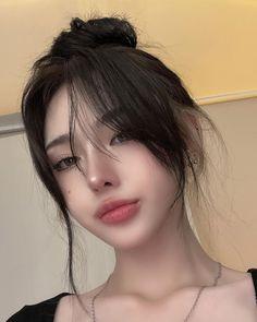 Red Hair Makeup, Ulzzang Makeup, Pretty Korean Girls, Ulzzang Korean Girl, Korean Girl Fashion, Asian Makeup, Cute Girl Face, Bad Girl Aesthetic, Girls Makeup