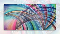Quadros Decorativos Abstratos 140x70cm QB0049 Modelo QB0049 Condição Novo…