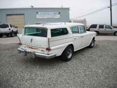 1959 Rambler Rebel Custom Cross Country wagon