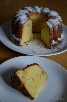 bábovka s tvarohom Slovak Recipes, Czech Recipes, Bunt Cakes, 3d Cakes, Pastry Cake, Sweet And Salty, Desert Recipes, Yummy Cakes, My Favorite Food