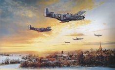 """""""Return to Duxford"""" by Robert Taylor"""