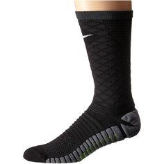 Nike Strike Tiempo Crew Cut Socks ($22) ❤ liked on Polyvore featuring intimates, hosiery, socks, crew-cut socks, crew length socks, crew socks, nike and nike socks