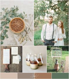 I'm loving these inspiration boards from Baham Wed!   Combined Wedding Themes: Rustic and Vintage Wedding Inspiration