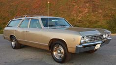 1967 Chevelle Malibu Wagon 327ci - Mine was this colour, but it was a '69 with a 350.