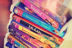 Somebody made Princess and the Frog and Tangled video cases. They're perfect.