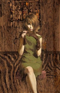 With Gloves by Robert McGinnis