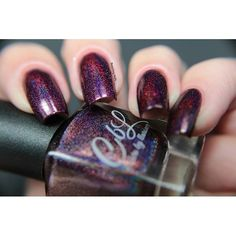Winter 2015 - Berries In The Snow is a blackened berry wine linear holographic. One of my faves in the collection. Pre-order November 23 on llarowe.com. Swatch by @beachingnails.⛄❄⛄ #colorsbyllarowe #cbl #llarowe #llaroweofficial #nail #polish #notd #nailstagram #nailsofinstagram #indie #nailaddict #mani #polish #indiepolish #cblwinter2015 #cblberriesinthesnow #winter
