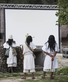 Colombia's Arhuaco Community Sees a Film for the First Time