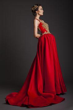 Krikor Jabotian Spring 2014 Haute Couture Akhtamar Collection