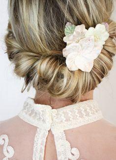 beauty wedding hairstyle,headdress style