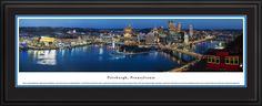 This Pittsburgh Skyline Panoramic Picture was taken by Blakeway Worldwide Panoramas and is available in many different formats!