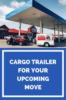 The perfect move with the perfect trailer. Our cargo trailers are aerodynamic and lightweight, fuel efficient, and able to be towed by many different vehicles. Rent yours today. Moving Supplies, Packing Supplies, Moving Tips, Moving Trailers, Small Colleges, Best Gas Mileage, Travel Store, Car Trailer, Packing Tips