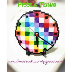 Clock hama beads by pysslatown