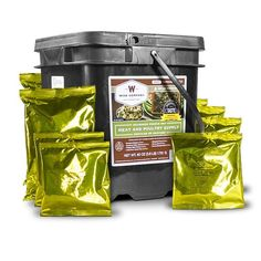 The Wise Company 60 Serving Gourmet Seasoned Freeze Dried Meat is one of the best foods made from a reputable company. The meat has a great taste and easy to prepare. Emergency Food Kits, Emergency Food Storage, Survival Food, Freeze Dried Meat, Freeze Drying Food, Wise Food Storage, Wise Foods, Protein, Hiking Food