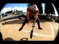 #Trials & #Street #Unicycling. Help I lost a wheel!!