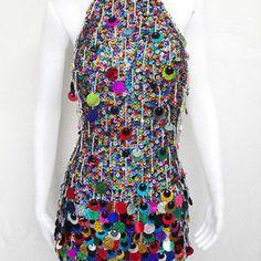 Salsa Latin Samba Drag Queen Dance Dress XS-XL