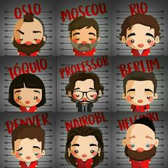 """Trending Photo from """"La Casa de Papel"""" series: None of them are bad. They are bad, they just want what we all want money . Best Series, Tv Series, Photo Series, Stranger Things, Photos Des Stars, Pinturas Disney, Most Beautiful Wallpaper, Great Backgrounds, Paper Houses"""