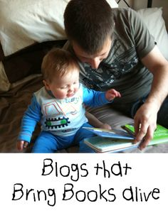 10 blogs that bring books alive for children in all sorts of ways from crafts and play ideas to outdoor adventures and cooking