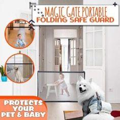 Magic Gate Dog Safeguard – Geniwo Retractable Dog Gate, Automatic Dog Door, Pet Gate, Dog Gates, Dog Life Vest, Dachshund Facts, Pet Barrier, Cat Water Fountain, Cat Litter Mat