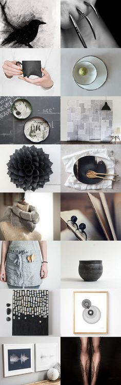 gray black by twoINCHEStoTheLEFT on Etsy--Pinned with TreasuryPin.com  with <3 from JDzigner! www.jdzigner.com