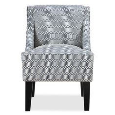 Hudson Swoop Arm Chair   Threshold™   Pavillion Fretwork Tropical Blue |  Play Room | Pinterest | Living Rooms, Room And Apartments