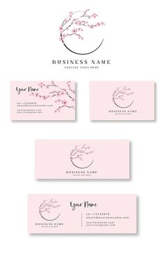 Brand Identity Design, Branding Design, Logo Design, Business Card Logo, Business Card Design, Business Stationary, Cherry Logo, Photography Logos, Wedding Photography