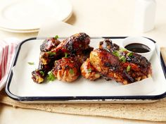 Sweet And Sticky Grilled Drumsticks Recipe - Genius Kitchen