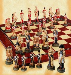 113.) Remember how the Napoleonic Era saw the Battle of Waterloo played like a chess game?