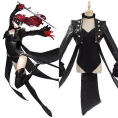 Persona 5 QUEEN Niijima Makoto Cosplay costume Kostüm Uniform Phantom Thief Neu