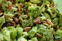 Broccoli, Bacon and Grape Salad